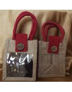 Catégorie Pochettes / sacs - Au Pays des Senteurs : Pochettes / sac en organza 10 x 12 cm , Pochettes / sac  couleur or ou ar...