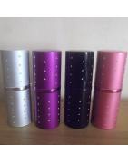 Vaporisateurs de parfum vides et rechargeables déclassés métal