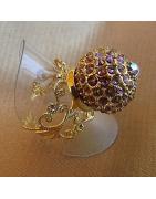 Bagues boule Cristal de Swarovski