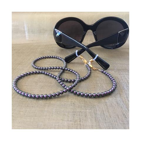 Collier CRISTAL DE SWAROVSKI & cordon à lunettes CRISTAL DE SWAROVSKI