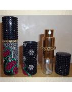 Vaporisateurs de parfum en strass