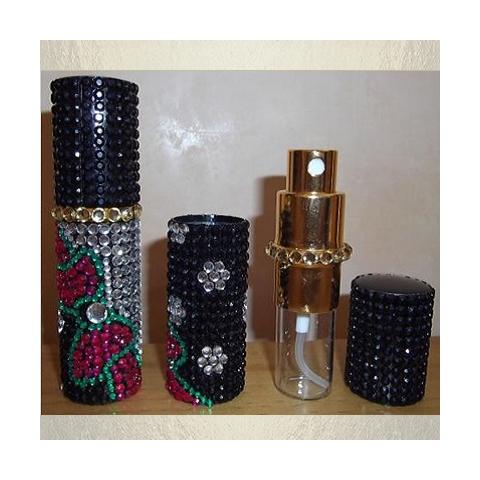 Vaporisateur de parfum en strass