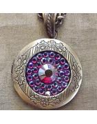 Pendentif Cristal de Swarovski bijoux porte photo
