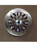 Broche Cristal de Swarovski diffuseur de parfum