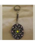 Porte clé diffuseur de parfum/Porte photo Cristal de Swarovski