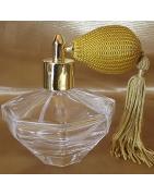 Vaporisateurs de parfum poire rétro courte en verre