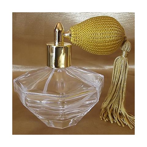 Vaporisateurs de parfum poire rétro courte en verre vide rechargeable